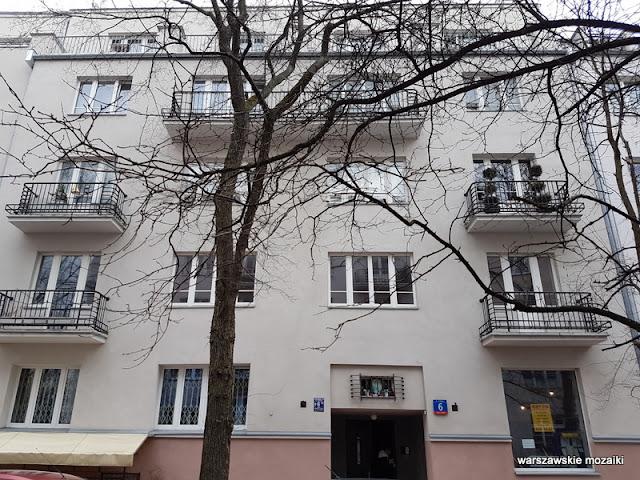 Warszawa Warsaw Stara Ochota kamienice przedwojenna zabudowa architektura Kolonia Lubeckiego