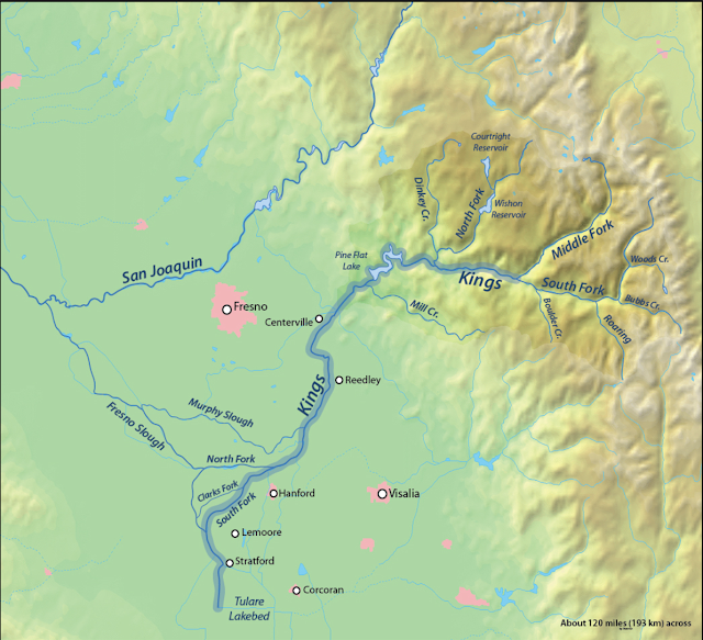 Kings River Map