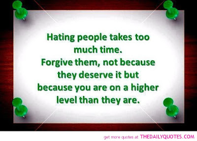 quotes time hating people takes too much time.