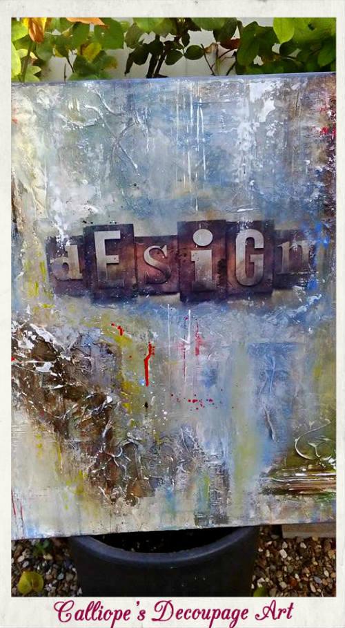 Calliope's Decoupage Art  Mixed Media, μεικτες τεχνικες και καμβαδες, calliopes decoupage art μεικτες τεχνικες και καμβαδες