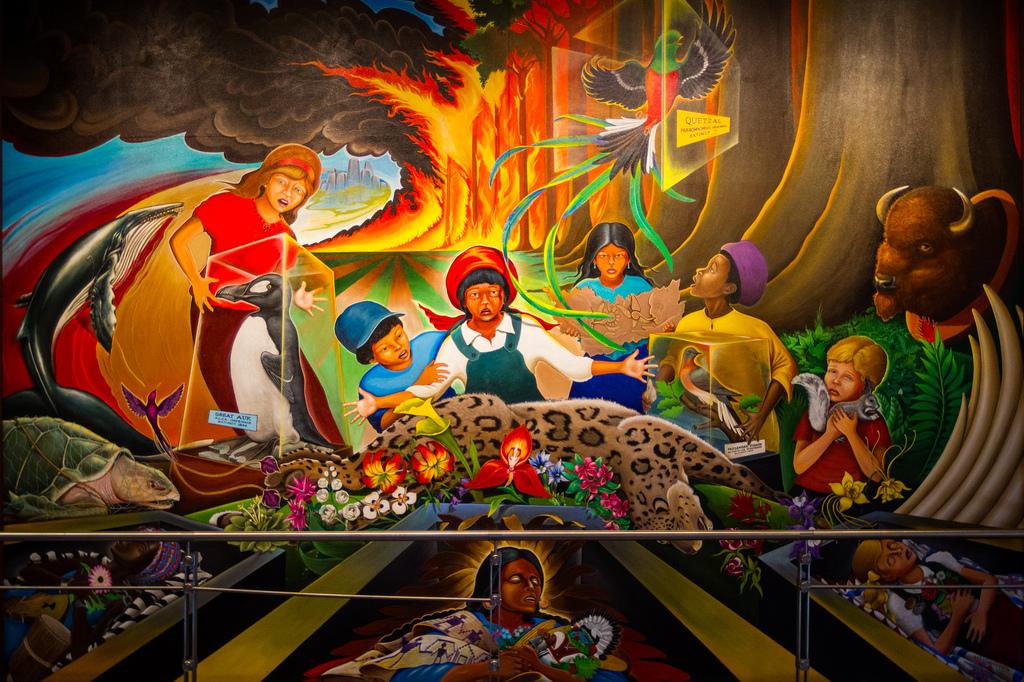 Beautiful Denver Airport Paintings Murals Mural World