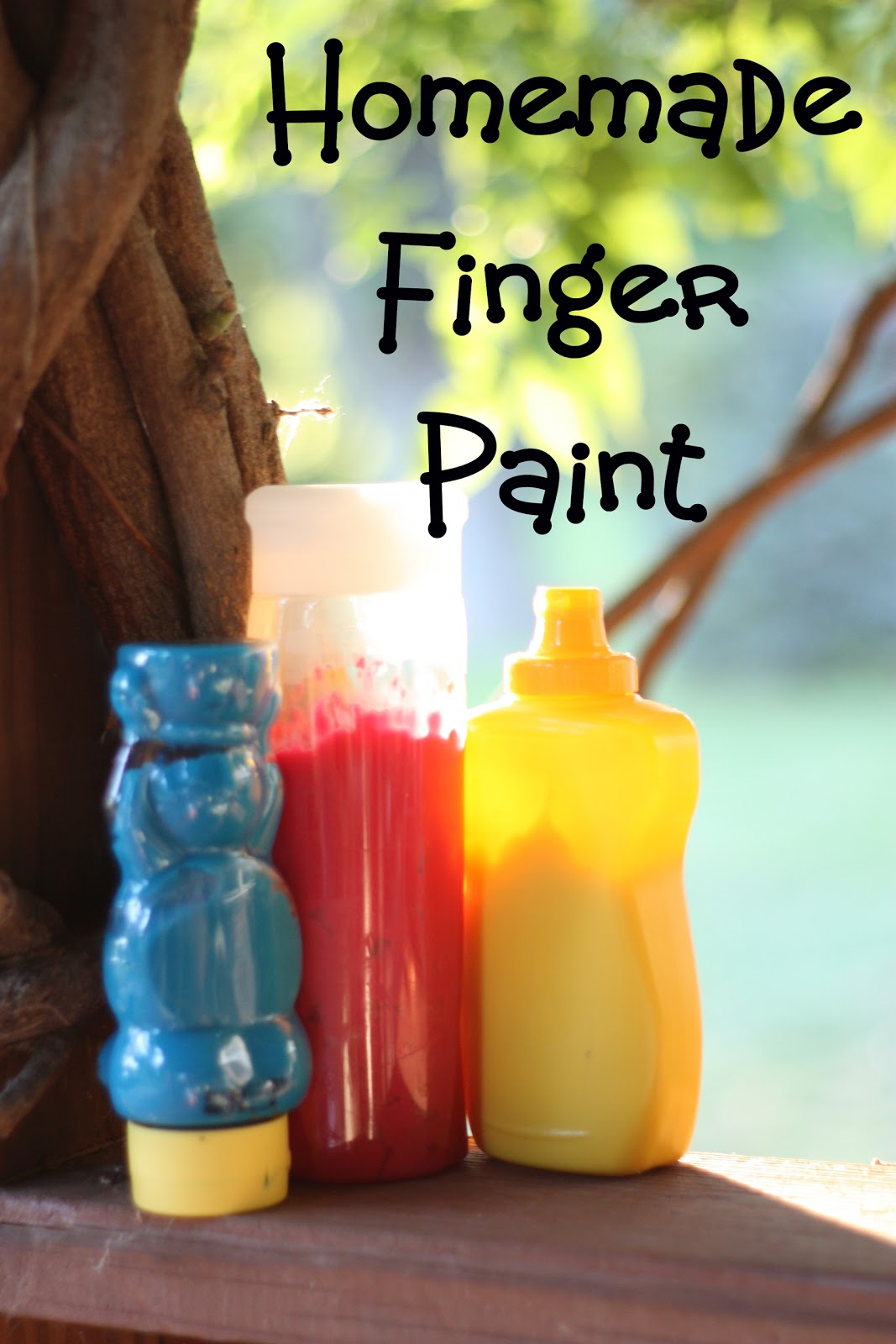 Squeezable Homemade Finger Paint - I Can Teach My Child!