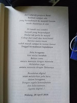 Puisi berjudul Agama Digital Karya Agus Mustofa (Part 3)