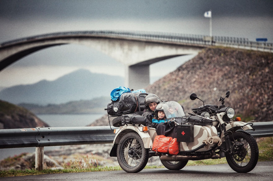Atlantic Road (Norway) - We Wanted To Show The World To Our 4-Year-Old So We Went On A 28,000Km Trip Around Europe