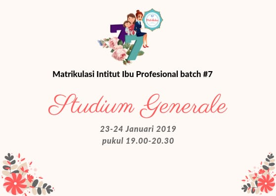 Studium Generale, Lebih Dekat dengan Matrikulasi IIP