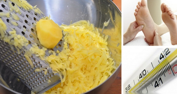 iata de ce a pus cartof in sosetele copilului