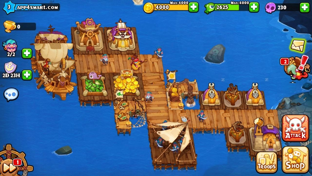 Juego Pirates Journey