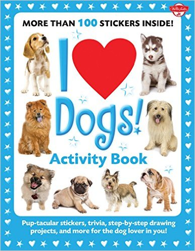 activity book for young dog lovers