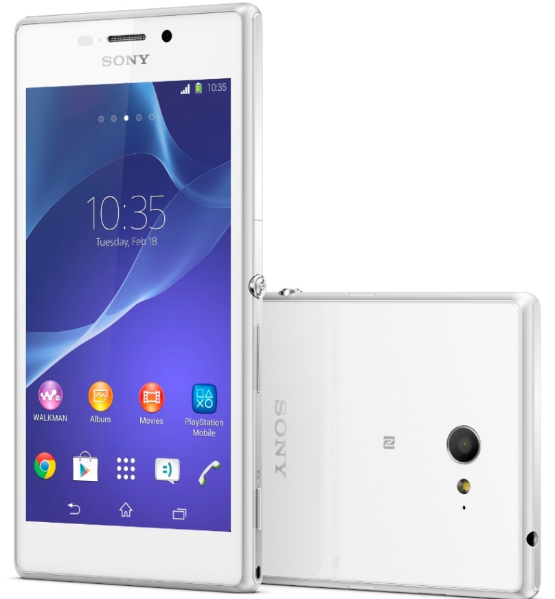 Price of Contract less Sony Xperia M2