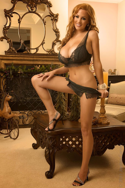 hot-sexy-Jordan-Carver-Christmas-2011-photo-shoot-picture-3