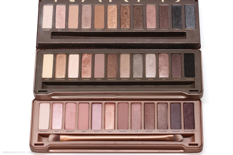 urban decay naked 3 palette comparisons naked naked 2. Black Bedroom Furniture Sets. Home Design Ideas