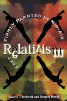 Top 5 Recommended Books for Ethics and Politics- Relativism: Feet Firmly Planted in Mid-Air by Greg Koukl and Francis Beckwith