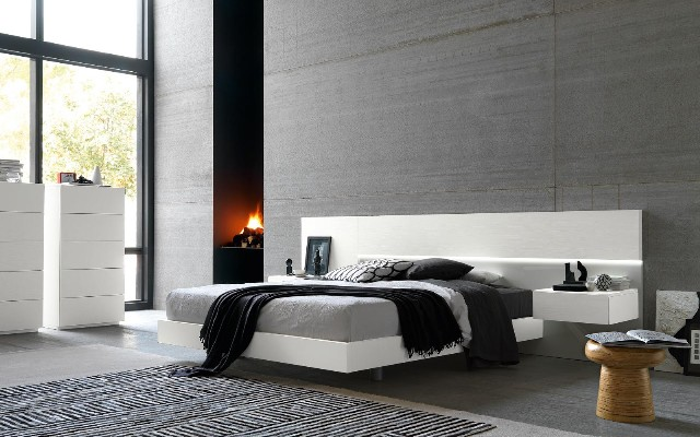 Dori design for Camere da letto minimal chic