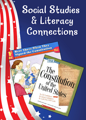 Making the Social Studies and Literacy Connection - Two great informational texts and two freebies to use on Constitution Day!