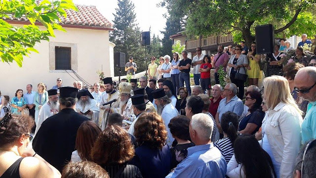 Πρέβεζα: Διήμερο Πανηγύρι, Στην Ιερά Μονή Αγίου Πνεύματος (Φανερωμένης) Λεκατσά Μυρσίνης Πρέβεζας