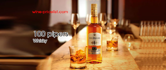 100 Pipers Deluxe Blended Scotch Whisky