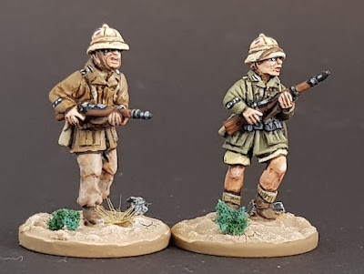 28mm DAK infantry sun hat