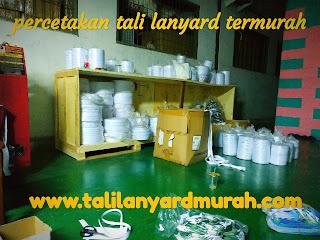 Jual tali lanyard harga termurah dan berkualitas di Jakarta