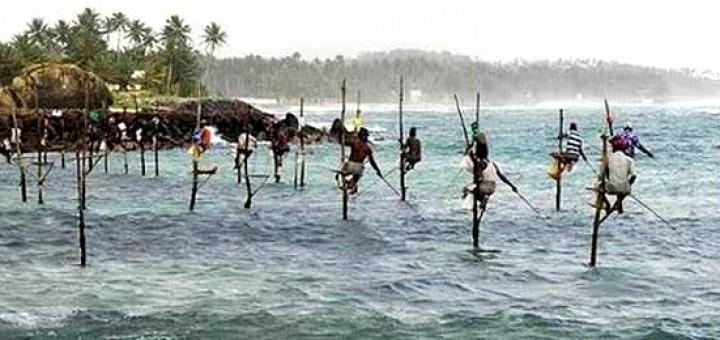 Image result for Teknik Memancing Ala Sri Lanka Kini Berubah Menjadi Objek Wisata Para Turis