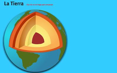 Capas de la geosfera