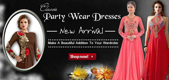 Stunning Look Party Wear Dresses Collection In Discount Offer Sale Online Shopping