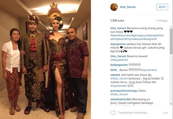 Busana Ayu Saraswati Pemenang Juara Truni Denpasar, dihujat Karena Terlalu Seksi