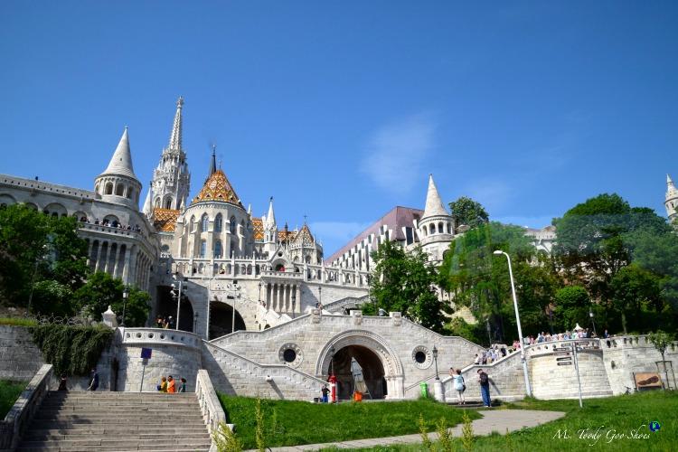 Fisherman's Bastion in Budapest  | Ms. Toody Goo Shoes #budapest #danuberivercruise #hungary