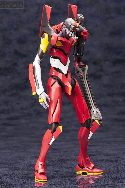 MODEL KIT 1/400 Regular Human Form Battle Weapon Production Model Kai 02 beta Rebuild of Evangelion