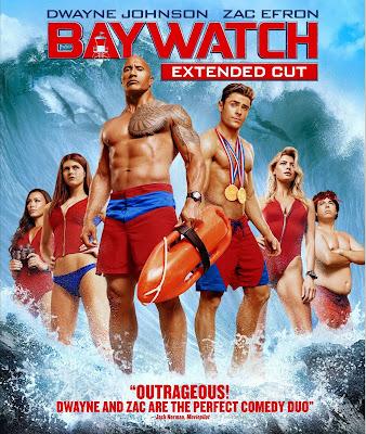 Baywatch EXTENDED 2017 DVD R1 NTSC Latino
