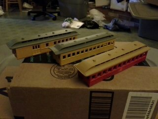Oakdale Junction Sp S Montpellier Branch Passenger Cars For