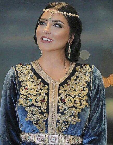 caftan mariage velour mobra 2019