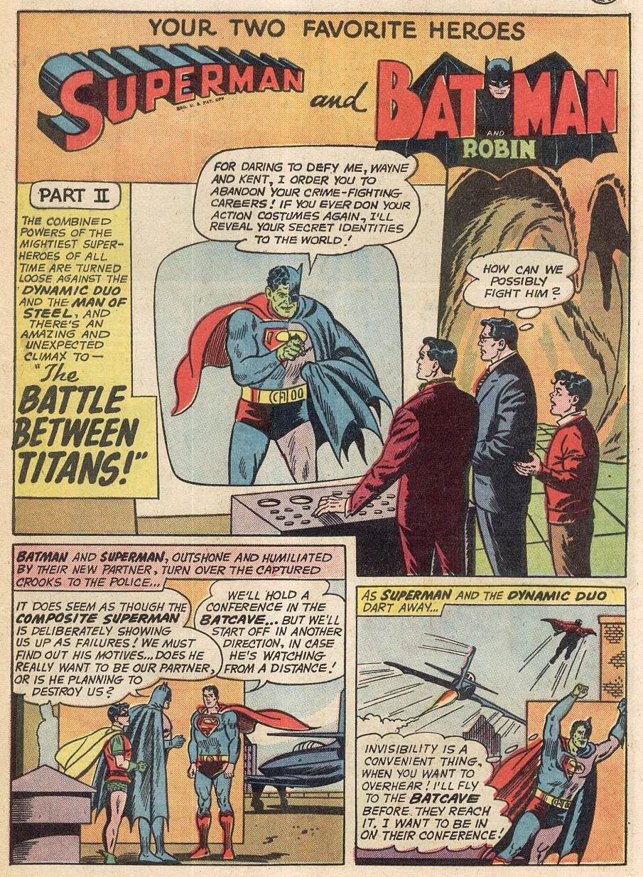 Read online World's Finest Comics comic -  Issue #142 - 13