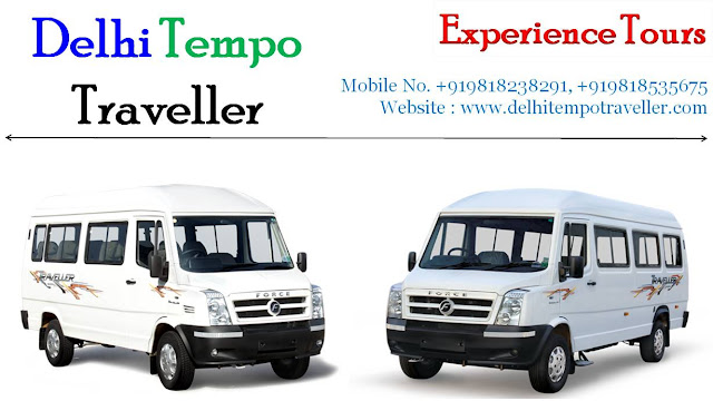 Air Conditioner Tempo Traveller on Rent in Delhi for family Tour Package