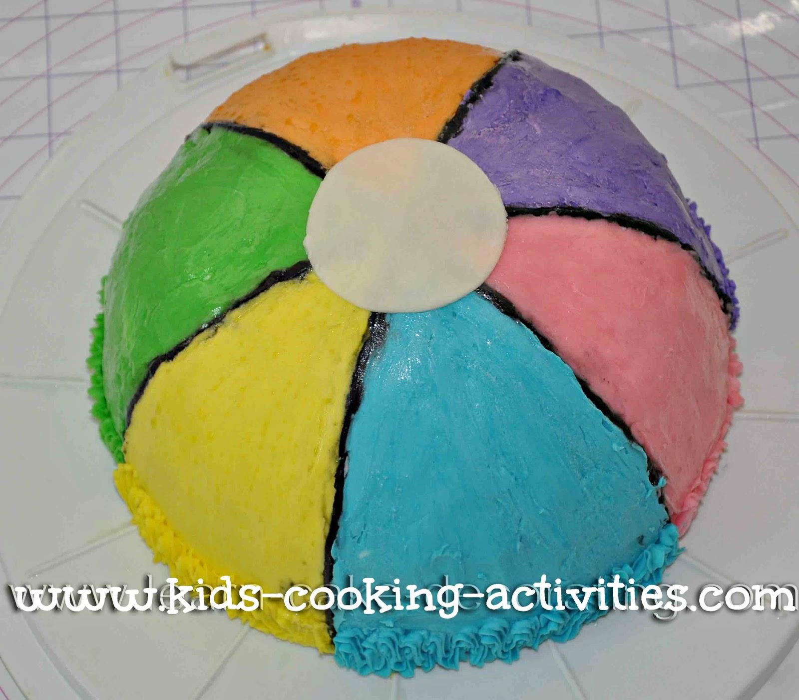 Kids Cooking Activities Fun Summer Cake Ideas for Kids