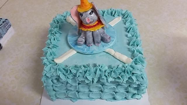 Dumbo style Baby Shower Cake