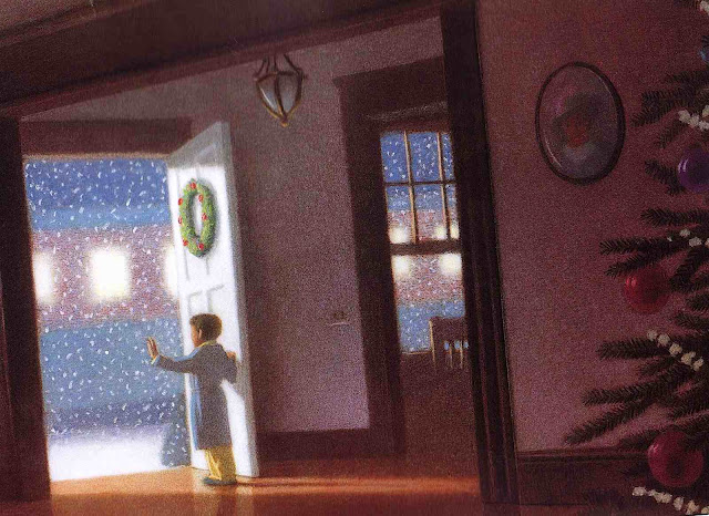 Chris Van Allsburg 1985, Polar Express, dreaming