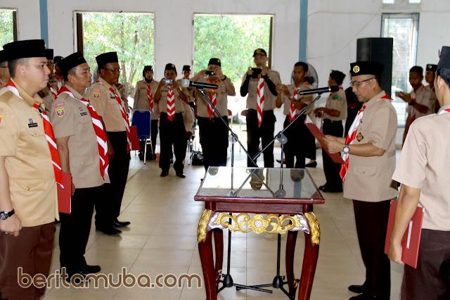 Plt Sekda Muba Lantik Ketua Kwaran Dan Pengurus Mabiran