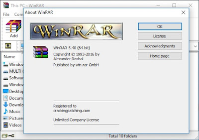 Download WinRAR 5.40 Final Full Version