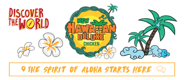 McDonald's 'Discover the World'  With A Taste Of The Tropics Hawaiian Deluxe Burger