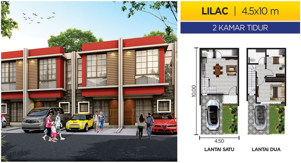 Rumah PIK 2 Cluster MIAMI Tipe LILAC