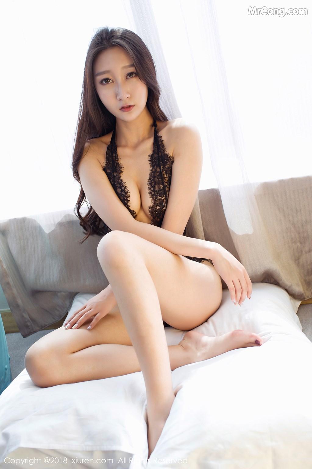 Image XIUREN-No.918-Zhao-Xi-Er-MrCong.com-001 in post XIUREN No.918: Người mẫu Zhao Xi Er (赵熙儿) (48 ảnh)