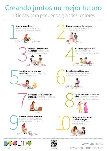 10 ideas para pequeños grandes lectores