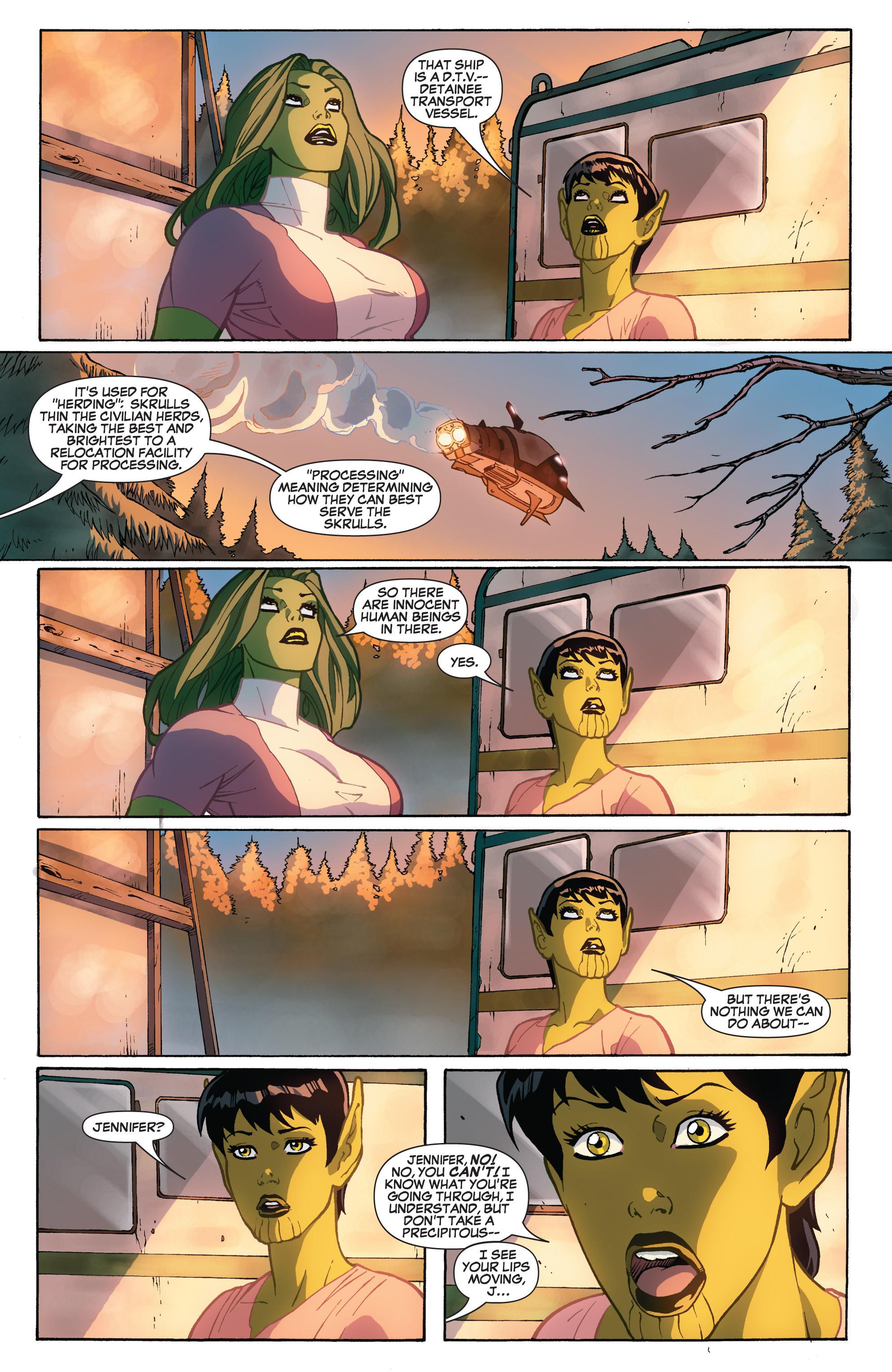 Read online She-Hulk (2005) comic -  Issue #32 - 8