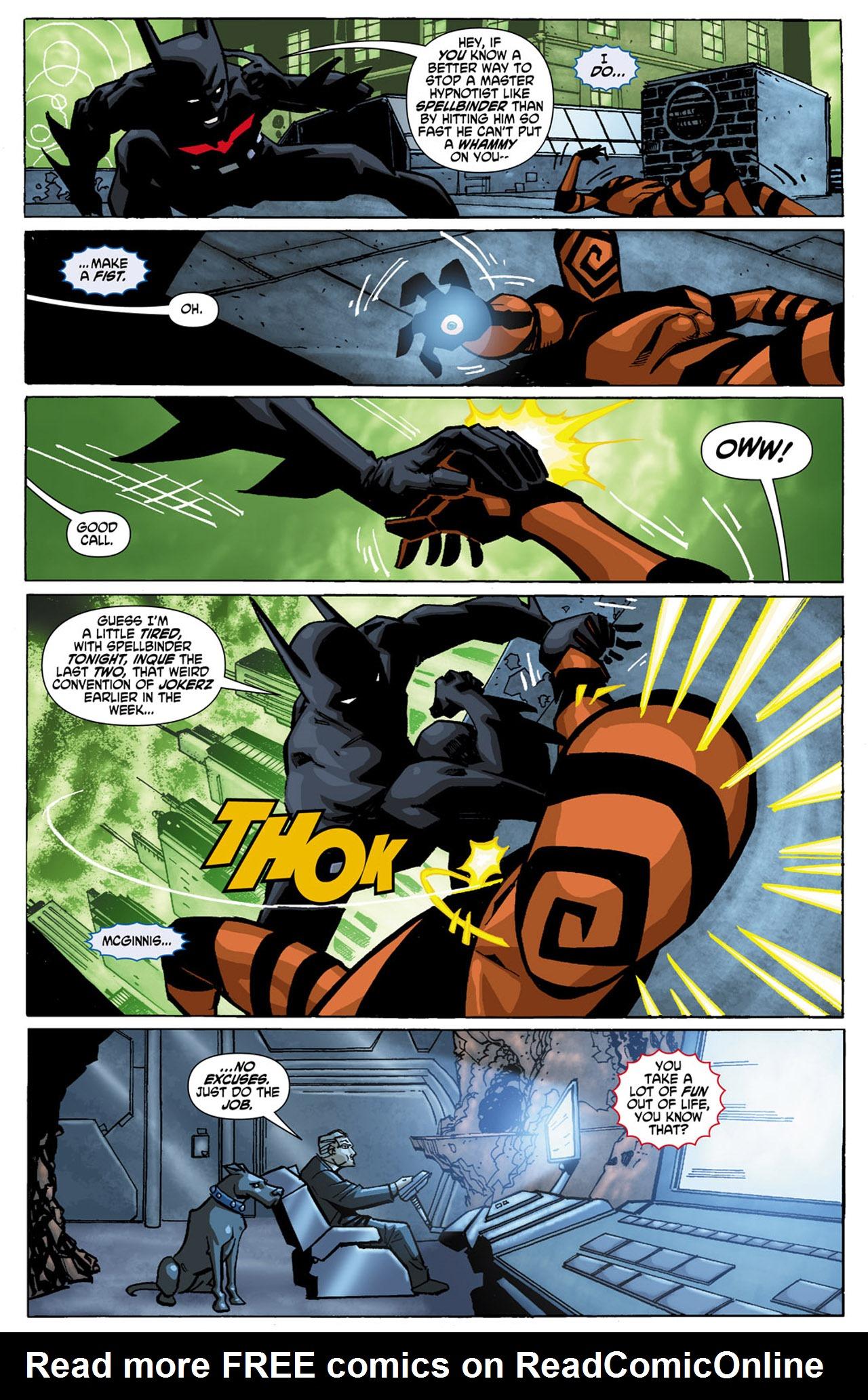 Batman Beyond (2010) Issue #1 #1 - English 7