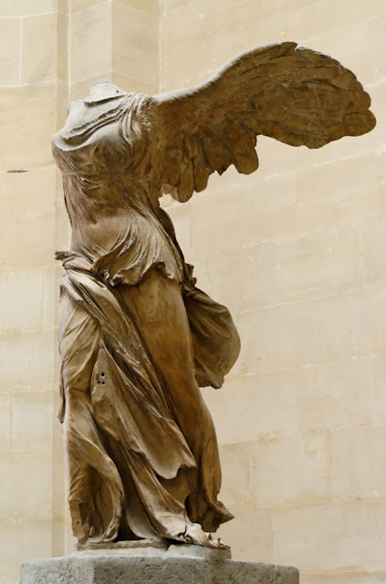 The Winged Victory of Samothrace Nike Of Samothrace Louvre Museum, Paris, Freance