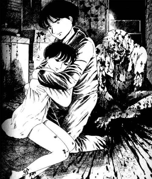Mangareader Horror: Why Do Animals Die: Horror Manga