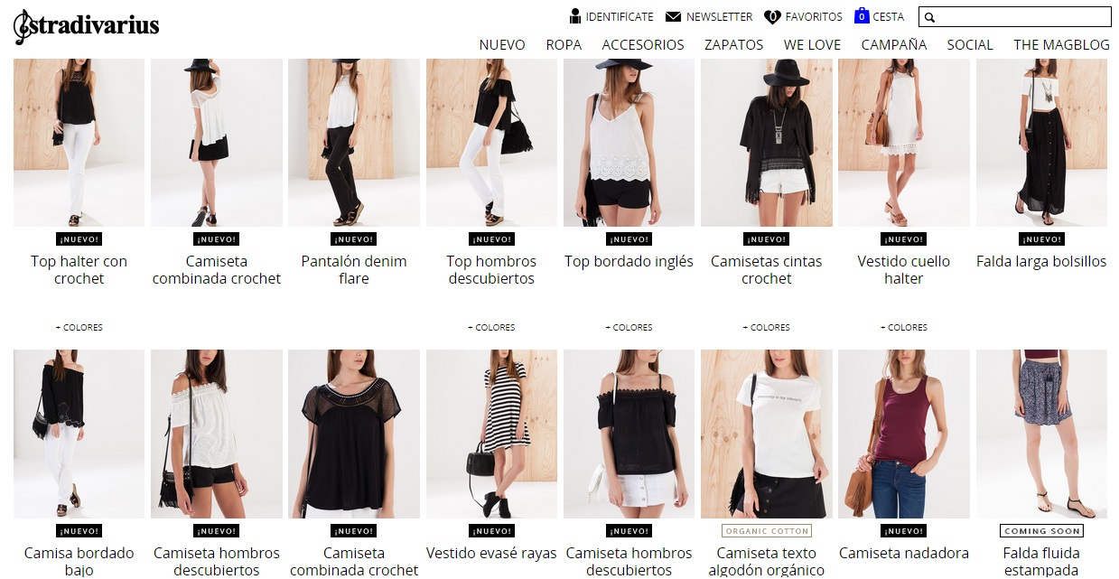 Valupi - Handmade with love  Outfit low cost  Básicos de verano 2015 bc83b56bb43