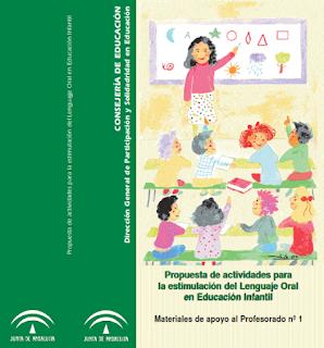 Propuesta de actividades para la estimulación del Lenguaje Oral en Educación Infantil