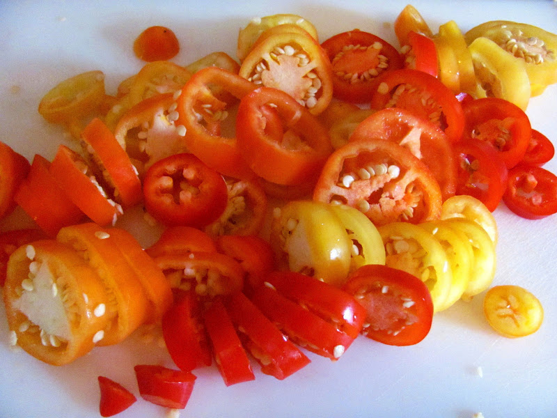 Sweet Domesticity Pickled Pepper Rings
