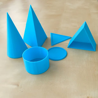 cones cylinders and pyramids of same volume